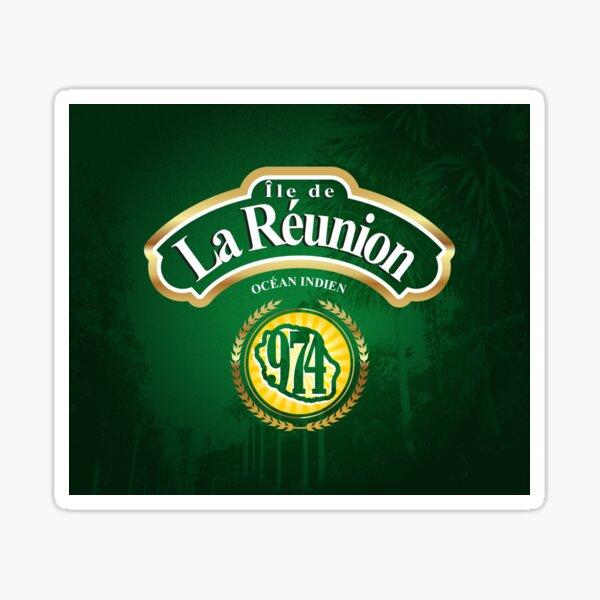 974 - Ile de la Reunion Sticker