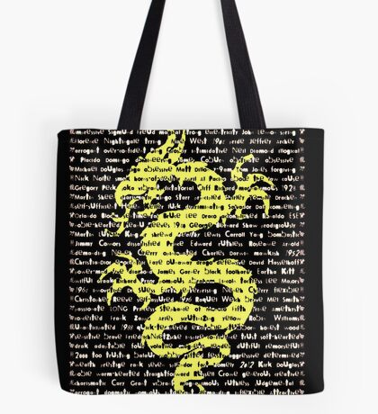 """The Year Of The Dragon"" Cards Tote Bag"