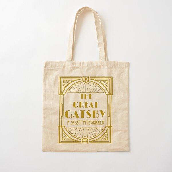 F Scott Fitzgerald The Great Gatsby Cotton Tote Bag