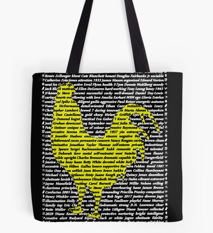 """""""The Year Of The Rooster / Cockerel"""" Cards Tote Bag"""
