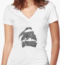 Tethered - wakeboarding pirate Women's Fitted V-Neck T-Shirt