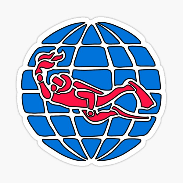PADI logo Sticker