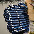 Boats at Knaresborough by SWEEPER