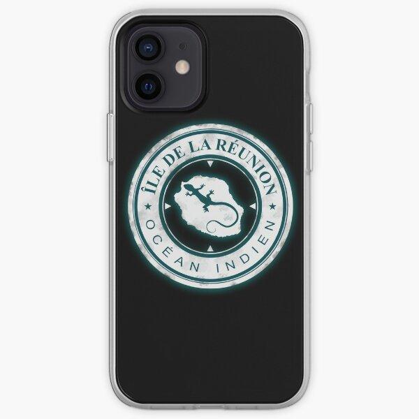 974 - Ile de La Reunion - Margouillat Coque souple iPhone