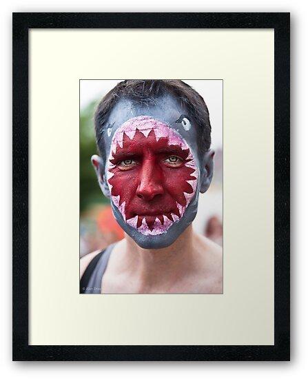 Portraits from The 2011 Coney Island Mermaid Parade-11 by alan shapiro