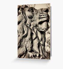 Salts lion Greeting Card