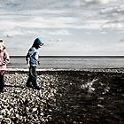 On the beach by MWhitham