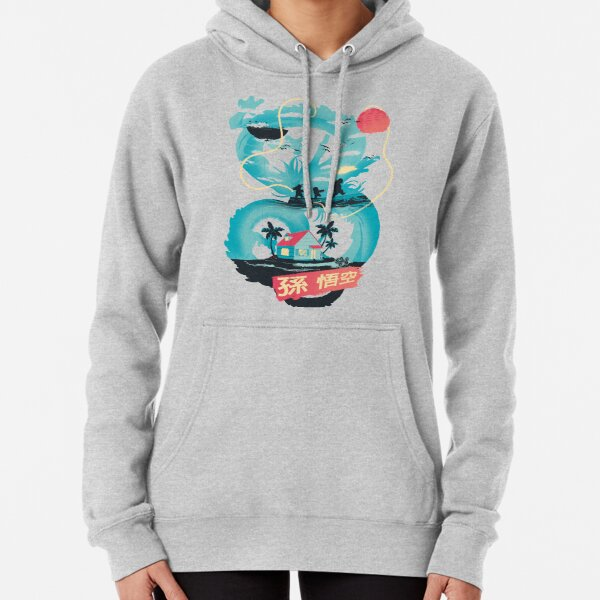 Dragon Landscape Pullover Hoodie