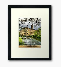 Salts Mill Framed Print