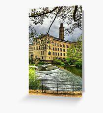 Salts Mill Greeting Card