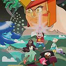 Steven Universe The Gem Wars by luvusagi