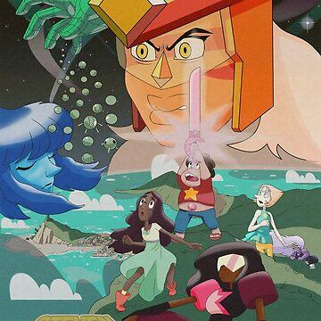 Steven Universe The Gem Wars by luvusagi