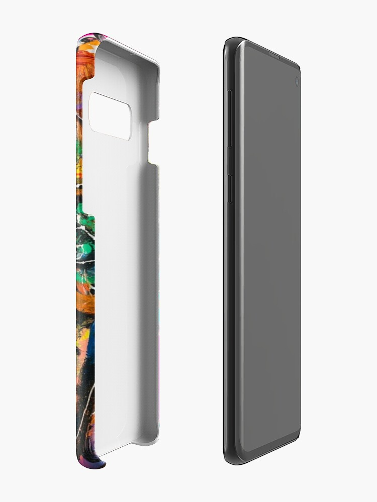 Alternate view of Neoexpressionism, art brut, spontaneous art, black and Colors, free figuration Case & Skin for Samsung Galaxy