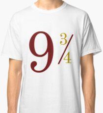 Nine and Three Quarters Classic T-Shirt