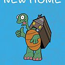 New Home Greeting Card by PeteSongi