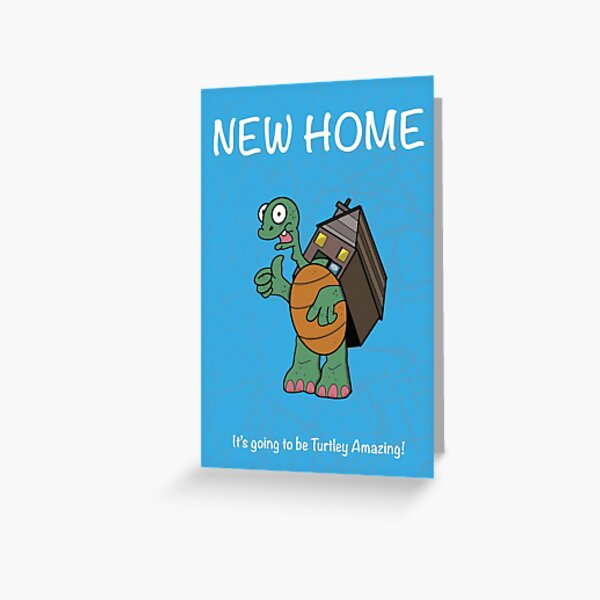 New Home Greeting Card Greeting Card