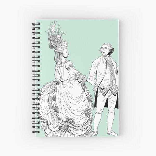 Duke and Dutchess Spiral Notebook