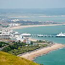 Eastbourne, Sussex, UK - From Beachy Head by DonDavisUK