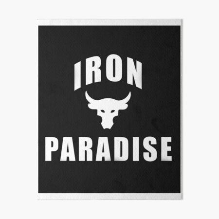 Iron Paradise Art Board Print
