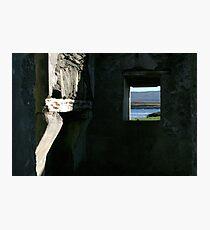 Derelict view Photographic Print