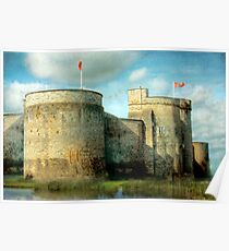 Out of the Past - King John's Castle, Limerick, Ireland Poster