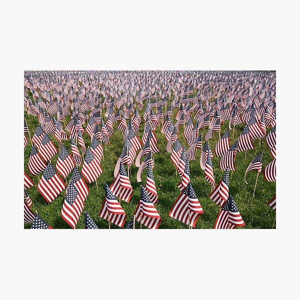 Boston Memorial Day Photographic Print