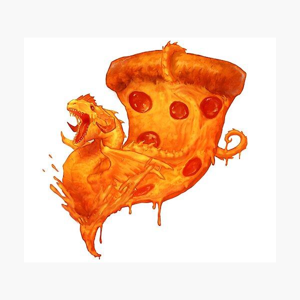 Dragon pizza Photographic Print