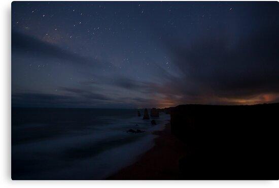 12 Apostles at Night by Timo Balk