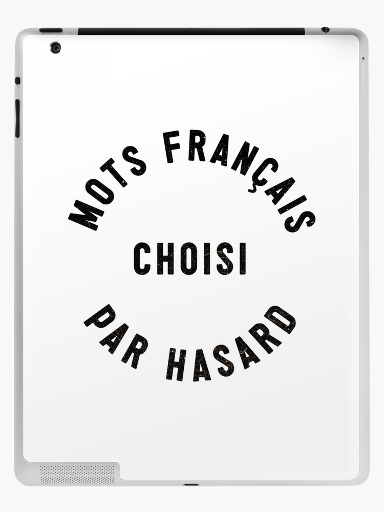 Random French Words Ipad Case Skin By Designcoma Redbubble