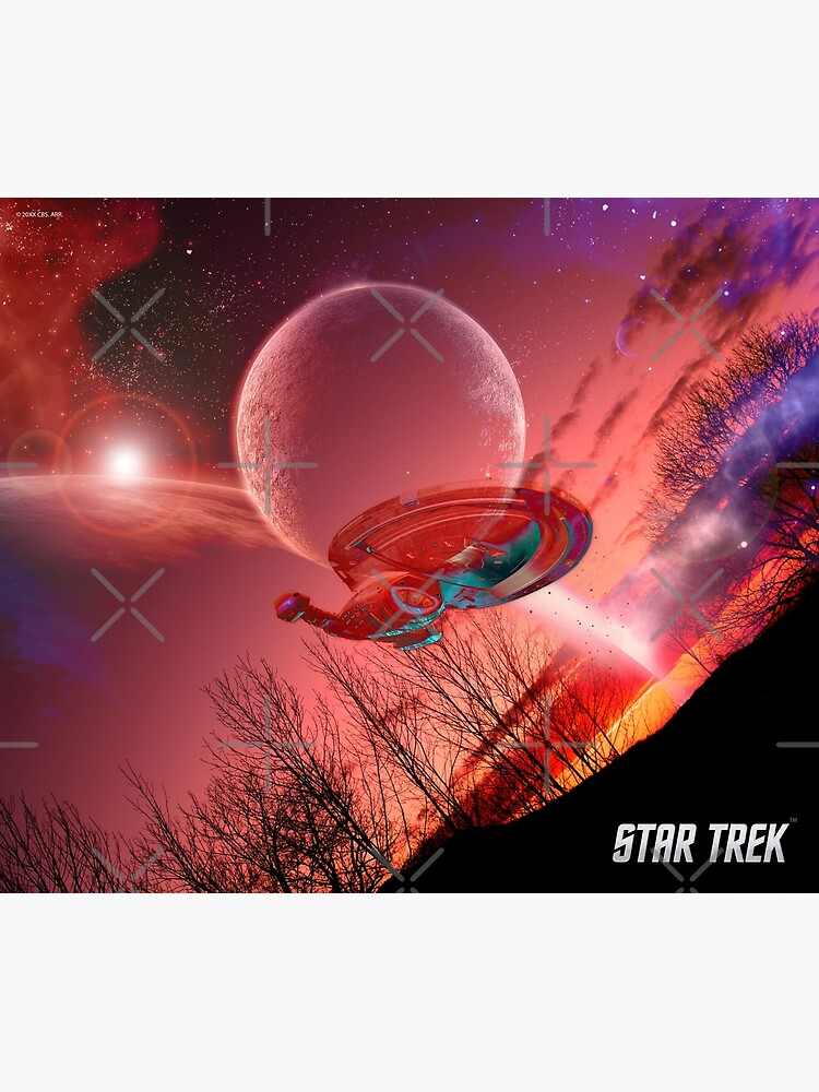 Star Trek, Voyager spaceship by Mauswohn