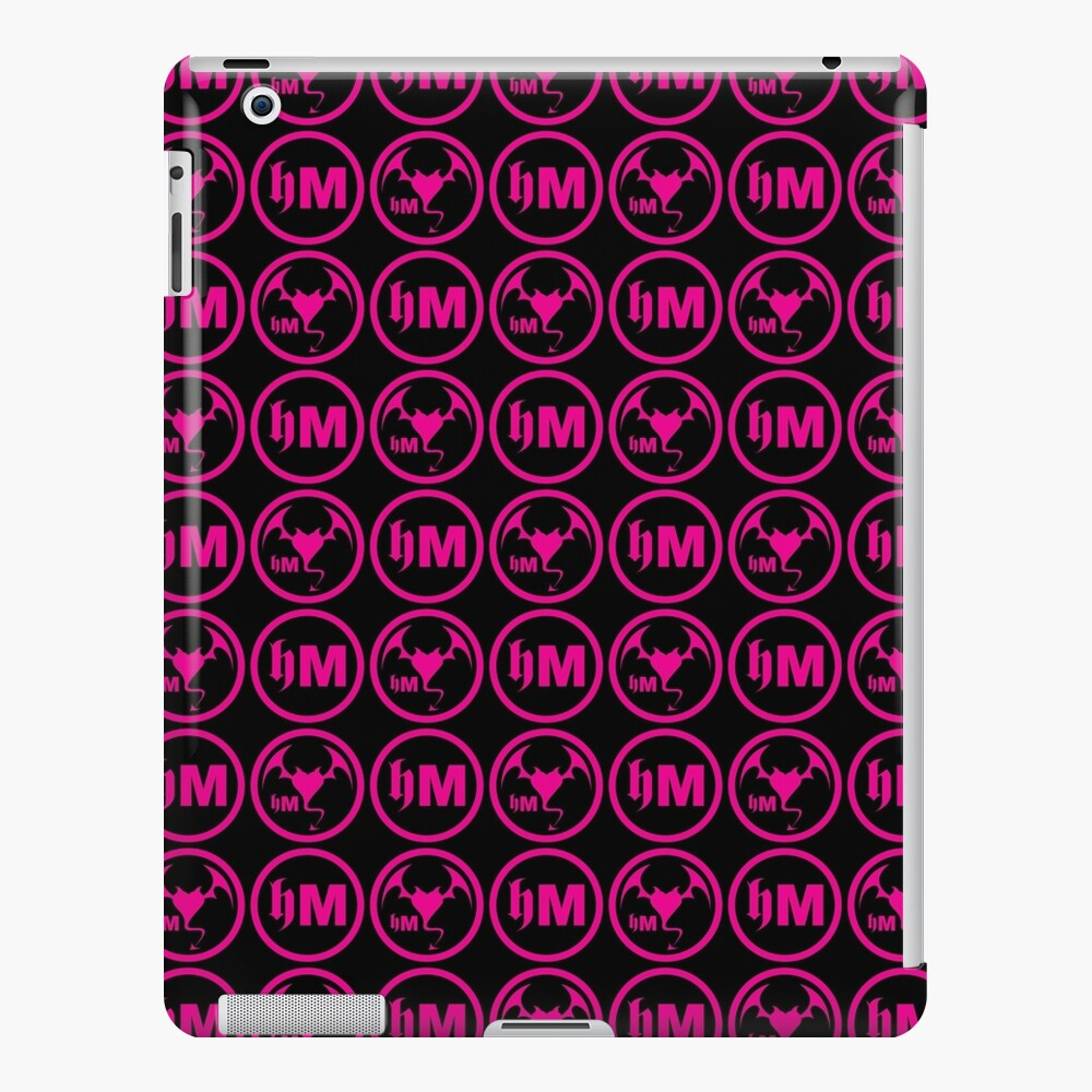 Hollywood Monsters Pattern - PINK iPad Case & Skin