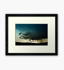 Storm Over Stoney Indian Reserve Framed Print