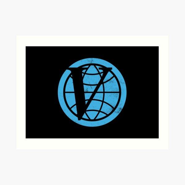 Venture Industries logo — The Venture Bros.  Art Print