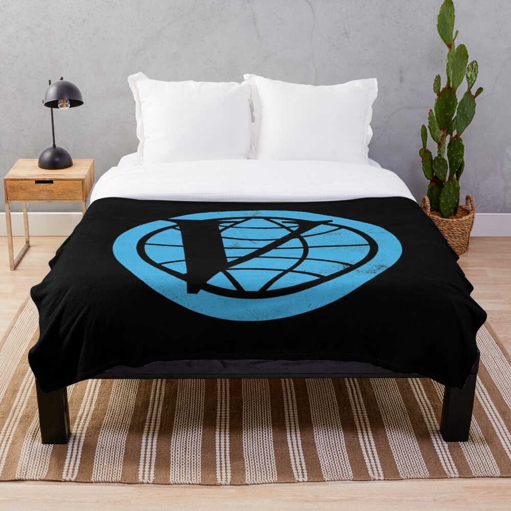 Venture Industries logo — The Venture Bros.  Throw Blanket