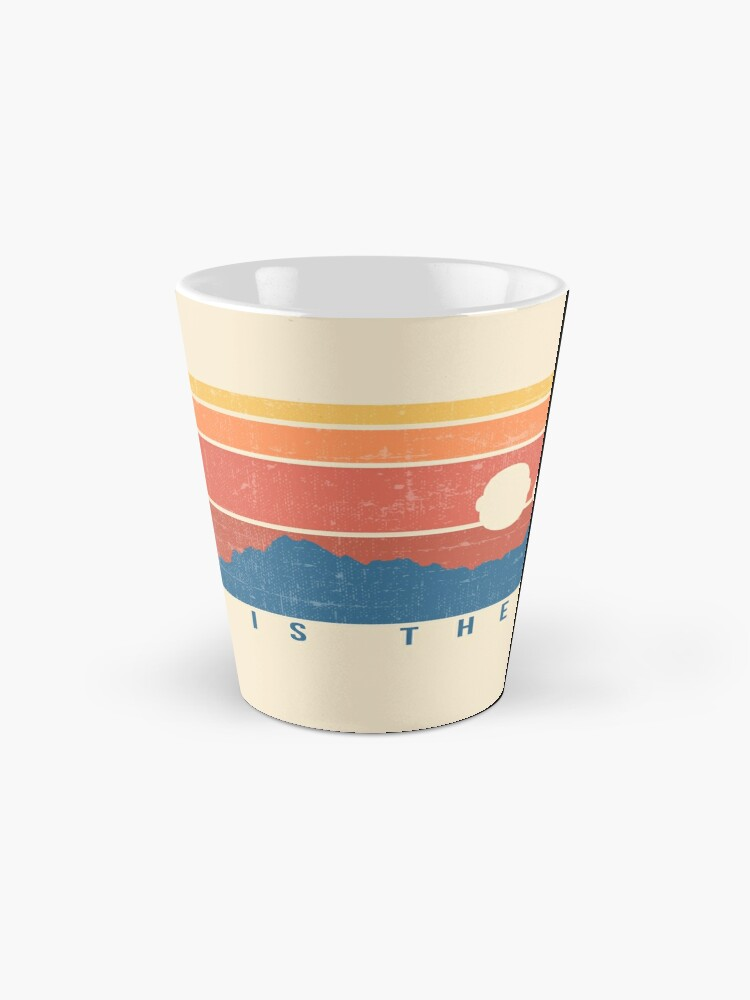 Alternate view of This is the Way Retro Mug