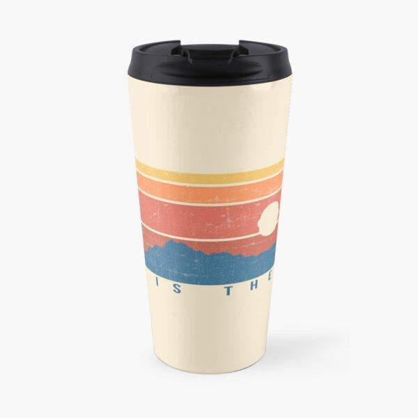 This is the Way Retro Travel Mug