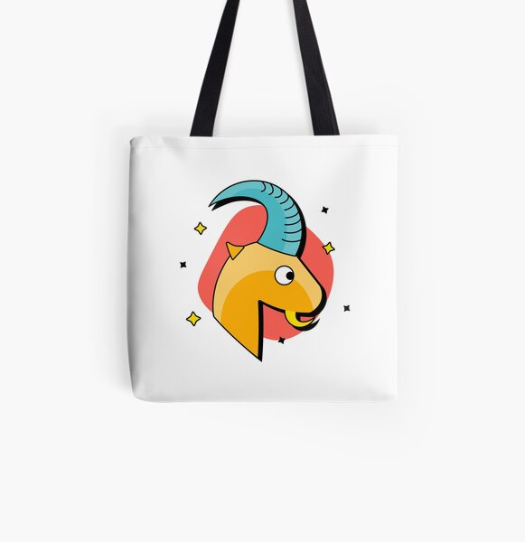 Capricorn All Over Print Tote Bag