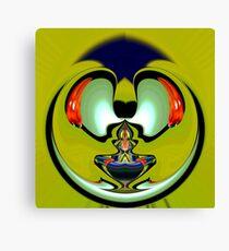 Aladdin lamp Canvas Print