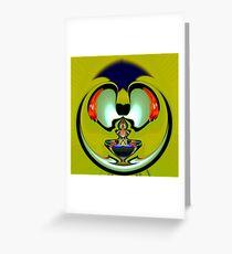 Aladdin lamp Greeting Card