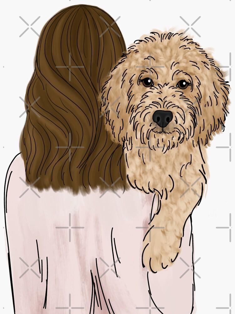 Goldendoodle Dog Mom by ktscanvases