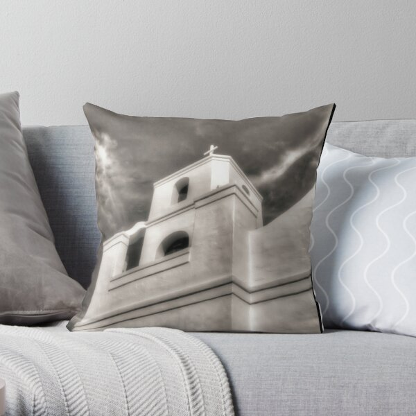 The Mission Old Town Scottsdale Throw Pillow