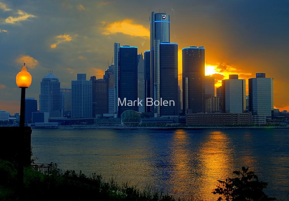 Evening in Detroit by Mark Bolen