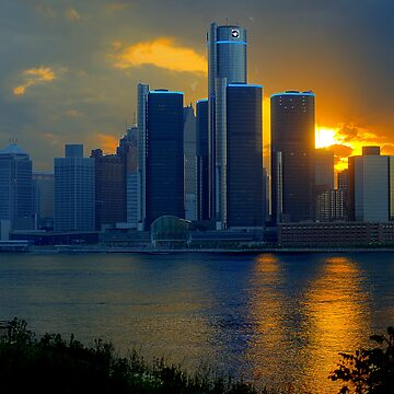 Evening in Detroit by dzf1z1
