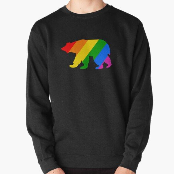 Regenbogen Eisbär Pullover