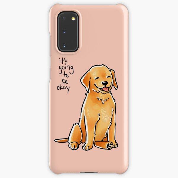 """It Will Be Okay"" Puppy Samsung Galaxy Snap Case"