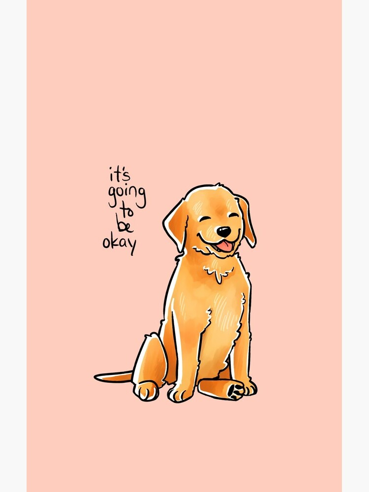 """""""It Will Be Okay"""" Puppy by thelatestkate"""