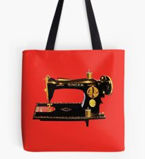 VINTAGE SEWING MACHINE-PILLOWS-TOTE BAG-JOURNAL-SCARF-ECT. Tote Bag