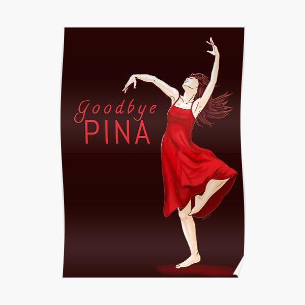 Adiós Pina Póster