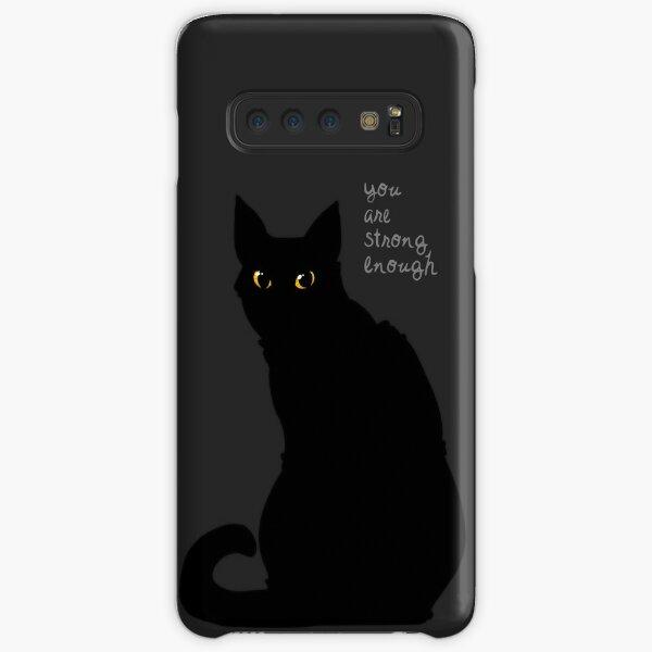 """""""Strong Enough"""" Cat Samsung Galaxy Snap Case"""