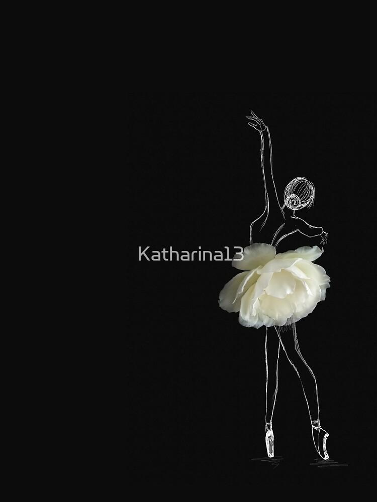 Bailarina rosa blanca de Katharina13